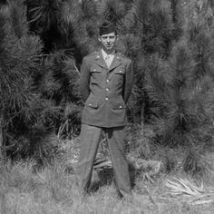 """C is for Camp Howze Texas where dad went for Advanced Infantry Training. Dad wrote """"It was an undeveloped uncivilized piece of real estate completely separated from the world. I guess they wanted us to think only about our military training. I was in good physical condition and could keep up with the best of them so I was able to keep out of trouble. It was a wonder that so few trainees were killed during that eight weeks of advanced training. There was every type of individual at that camp…"""