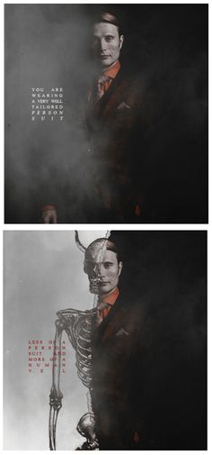 the talented side of the fandom /  I think I'm going to have make a separate board for #Hannibal! There's SO much fan art devoted to this show at this point, that when pinning official media it's sort hard to tell the difference sometimes between theirs and ours. It's really great!  There's a lot of imagery surrounding this show, I feel it may need it's own board. :)