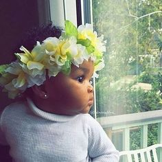 Goddess in the making!  So Adorable!  @babymadden_  #curlkit #naturalhair #teamnatural_ #naturalhairdoescare #mynaturalhair #urbanhairpost #luvyourmane #naturalhairmojo #naturalherstory #myhaircrush #naturalhaircommunity #naturalhairdaily #usnaturals #naturalhairstyles #naturallyshesdope #curlswithlove #amazingnaturalhair #trialsntresses #curlsaunaturel #amatusrioz #yoamomipajon #uknaturals #afrolatina #afroboriqua