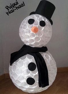 20 DIY Snowman Craft Ideas Making Christmas Even More Happiness-Worthy – Cute DIY Projects 20 DIY Snowman Craft Ideas Making Christmas Even More Happiness-Worthy Christmas Art, Christmas Projects, Simple Christmas, Christmas Ornaments, Snowman Crafts, Holiday Crafts, Cute Diy Projects, Ideias Diy, Bottle Crafts