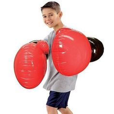 Jumbo air #boxing #gloves #inflatable fun kids adults gift xmas sports party new, View more on the LINK: http://www.zeppy.io/product/gb/2/272056819471/