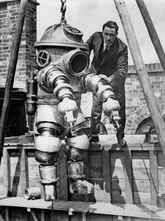 Early diving suits heralded an unprecedented age of ocean exploration
