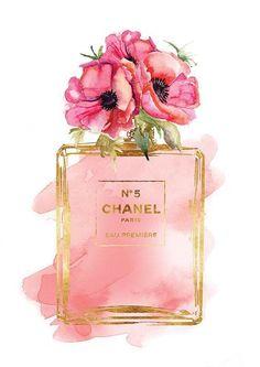 Rose Perfume, Chanel Perfume, Replica Perfume, Wall Art Prints, Poster Prints, Chanel Wallpapers, Chanel Poster, Designer Image, Chanel Art