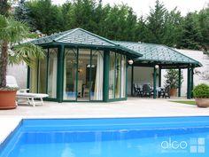 schwimmbad berdachungen aus holz glas oder alu von schwimmhalle pool berdachung und. Black Bedroom Furniture Sets. Home Design Ideas
