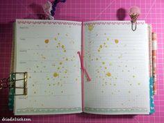 Déia Dietrich | Planner printable free gratis insert happy planner, personal, a5, traveler notebook, imprimir