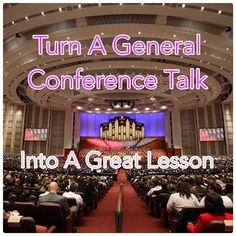 Starting in 2018 your Relief Society or ward leaders will pick out a random General Conference talk for every 2nd & 3rd Sunday lesson. What's your plan once you know which talk it is? He…