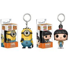 POP Despicable Me small yellow people Keychain film surrounding key figures hand model doll baby toys gift Minions Fans, Despicable Minions, Minion Gifts, Funko Pop Toys, Disney Gift, Pop Collection, Bobble Head, Anime Naruto, Baby Toys