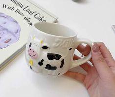Cartoon Cow Ceramic Milk Mug - FeelGift