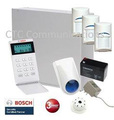 Bosch Solution 880Ultima with 3 x Tritech Detectors  (Pet Friendly)