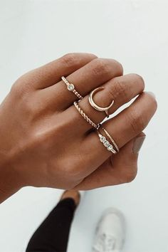 Chic Crescent Diamon