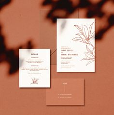 Desert Willow Wedding Invitation #minimal #botanical #weddinginvitation #stationary Mountain Wedding Invitations, Botanical Wedding Invitations, Elegant Invitations, Modern Wedding Invitations, Wedding Invitation Wording, Wedding Stationery, Wedding Signage, Invitation Ideas, Shower Invitations