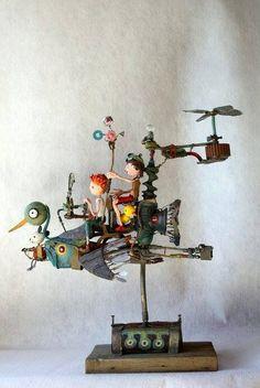Gerard Collas sculpture