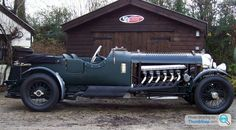 V12 Bentley powered by a Rolls Royce Merlin engine