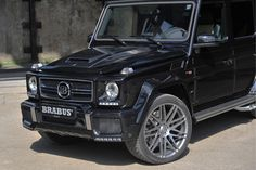 Brabus Unleashes G63 AMG 850PS Widestar For Frankfurt