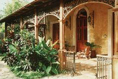 Mexican Hacienda Architecture   Yucatan, Merida, Hotel Hacienda Xcanatun, Rooms Terrace