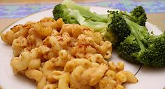 "Baked Macaroni and ""Cheese"" #recipe"