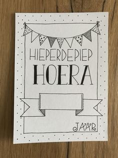 Made by Mariska Calligraphy Doodles, Doodle Lettering, Handlettering Happy Birthday, Birthday Card Drawing, Doodle Art Drawing, Birthday Letters, Bullet Journal Notes, Bday Cards, Doodle Inspiration