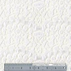 http://gorgeousfabrics.com/shop/lace/eyelash-y-rayon-lace-ivory/