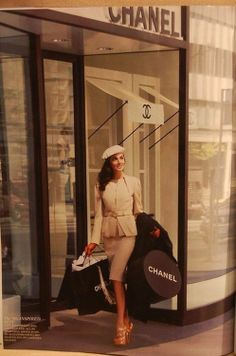 Vintage Chanel I'm pretty sure every girl wishes that this could be reality #oozessophistication