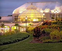 Phipps Conservatory - My nephew got married here
