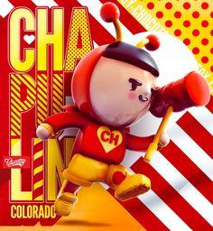 Cor é o que não falta nas ilustrações 3D do estúdio ChocoToy - O estúdio ChocoToy cria ilustrações 3D com cores vivas e bastante chamativas, em um estilo bastante singular. Confira!