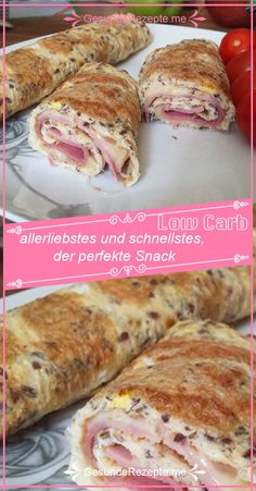 Ingredients: 2 egg whites 1 whole eggs 1 spoon of milled flax seed ham (amount … – Rezepte – Healthy Snacks Healthy Protein, Protein Foods, No Gluten Diet, Quick And Easy Soup, Whole Eggs, Easy Soup Recipes, Cauliflower Recipes, Keto Snacks, Food And Drink
