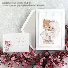 precious moments wedding invitations | Precious Moments Wedding Invitations Free Download