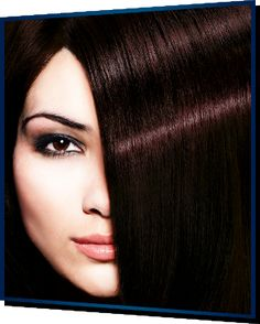 Gorgeous dark hair with a tint of red, love it!