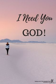 Embracing the Unexpected | Maree Dee - Do you forget you need God when things are going okay? I sometimes do. Click over to find a great video.