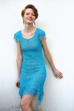 Vestido lindo azul