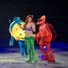 Disney On Ice - Ariel - Rockin Ever After #Disney - I Am a Mommy Nerd