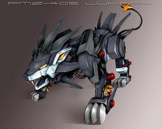 anthro pokemon — Mecha pokemons<<looks like a voltron lion! Mega Pokemon, Pokemon Pins, Pokemon Images, Cool Pokemon, Animal Robot, Zoids, Battle Bots, Robot Concept Art, Robot Art