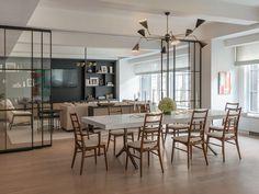 sala de jantar integrada com livig