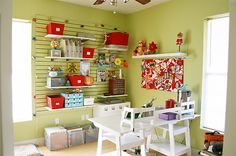 organized craft rooms