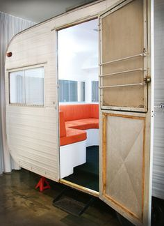 my dream... one day converting an airstream trailer into a mobile studio & work space