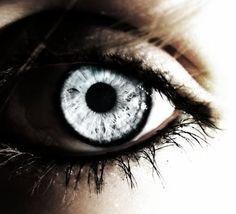 Ice Blue Grey Eyes