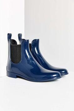 huge discount 08951 e89b7 Sam Edelman Tinsley Rain Boot Bootie Boots, Walking, Slip On, Heels, Rubber
