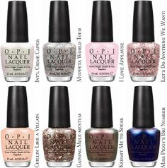 Fashion Polish: OPI Muppets Collection Disney's New Film Muppets Most Wanted