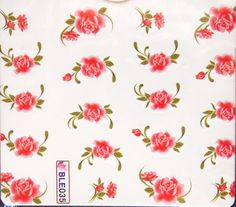 1 sheet of red rose nail art water decals/ by LaPalomaBoutique
