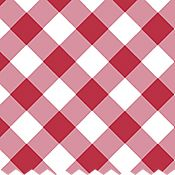 Picnic Gingham 104 in Wide Backing (Tomato)