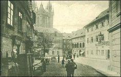 Týn na začátku 20. století