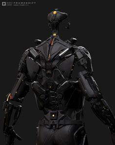 ArtStation - Exoskeleton GIF - FRAMESHIFT GAME CONCEPT ART, Andrea Chiampo
