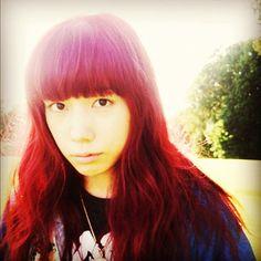 赤毛とスッピンのコントラスト - @riisa1018naka- #webstagram