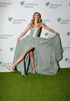 Gisele Bundchen Photos Photos - Gisele Bundchen attends the 2014 Rainforest Alliance Gala
