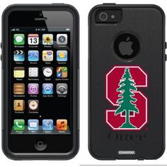 Stanford University S with Tree Design on OtterBox Commuter Series Case for Apple iPhone 5/5s