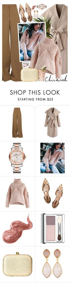 """""""Chicwish Valentine's day !!"""" by euafyl ❤ liked on Polyvore featuring STELLA McCARTNEY, Chicwish, Chopard, Margarita, Dolce&Gabbana, Bobbi Brown Cosmetics, Clinique, Jessica McClintock, Dina Mackney and love"""