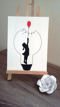 Des illustrations entièrement réalisées à la main au feutre noir fin ou Posca® dimension de laffiche 24x32 sur papier aquarelle 200g Délicatement glissée sous un cadre, ou scotchée avec un joli masking tape sur un mur nu, cette affiche va changer en un clin doeil votre doux chez vous.