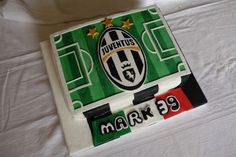 Football Themed Cake  https://www.facebook.com/TillowsCakes/
