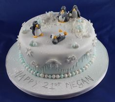 Winter fun for penguins!