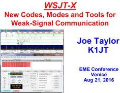"""AIR - RADIORAMA: QRA64 - Un nuovo metodo di trasmissione """" weak signals"""" inserito nel software WSJT-X"""